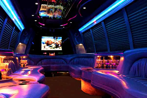 18 passenger party bus rental indianapolis