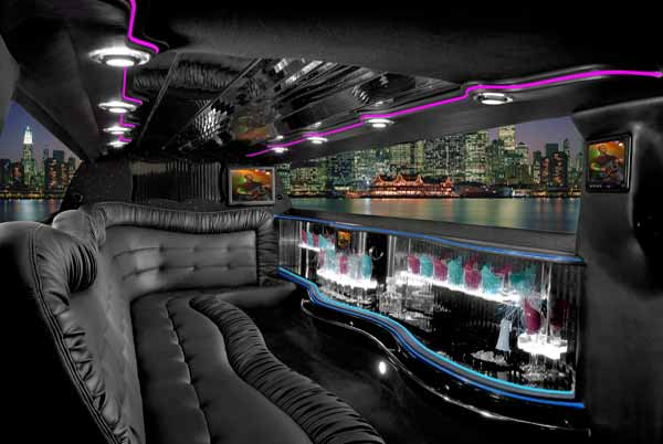 Chrysler 300 limo interior indianapolis