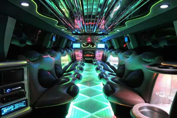 Hummer limo interior indianapolis