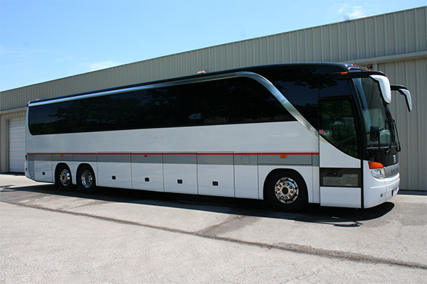 Indianapolis 56 Passenger Charter Bus